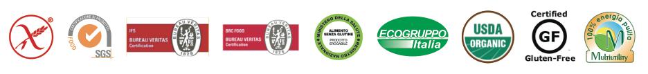 Certificaciones pasta Felicia molino Andriani